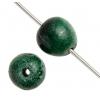 Semi-Precious Round 7mm Green Malachite